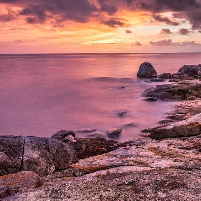 Dawn on Tassies East coast I really love all ourhellip